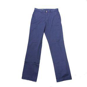 Vineyard Vines Breaker Casual Pants Blue 28x32 New